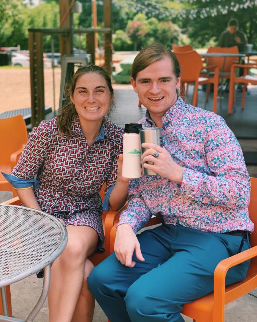 Summer Admission Fellows Quinn Massengill '19 and Elizabeth Millar '19