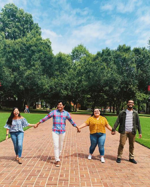 Tag the squad you're walking to class with today