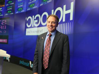 Hologic CEO and President Steve MacMillan at NASDAQ